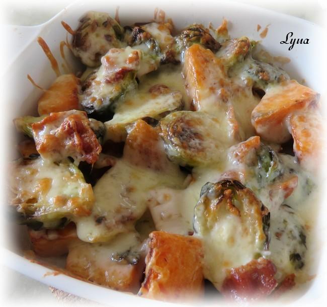 Choux de Bruxelles et patate douce gratinés Chou_b12
