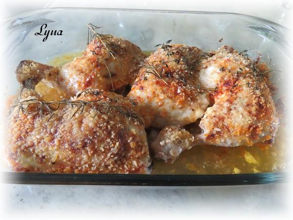 Cuisses de poulet mayo et parmesan Cuisse13