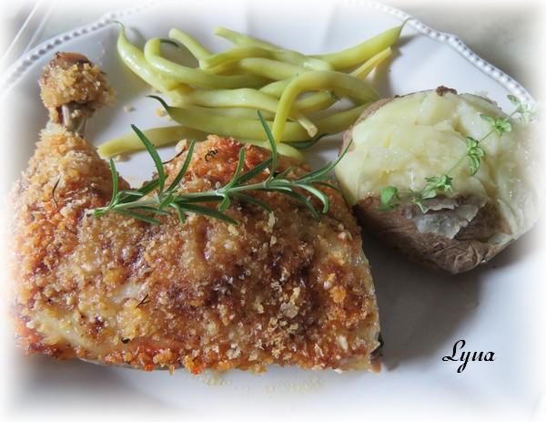 Cuisses de poulet mayo et parmesan Cuisse14