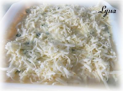 Gratin de pommes de terre au cheddar et purée de citrouille Gratin11