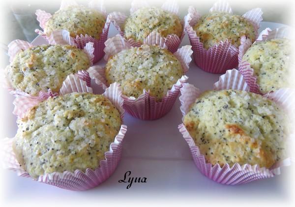 Muffins citron, orange et graines de pavot Muffin10