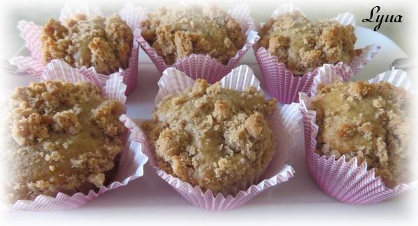Muffins à la cannelle avec crumble Muffin11