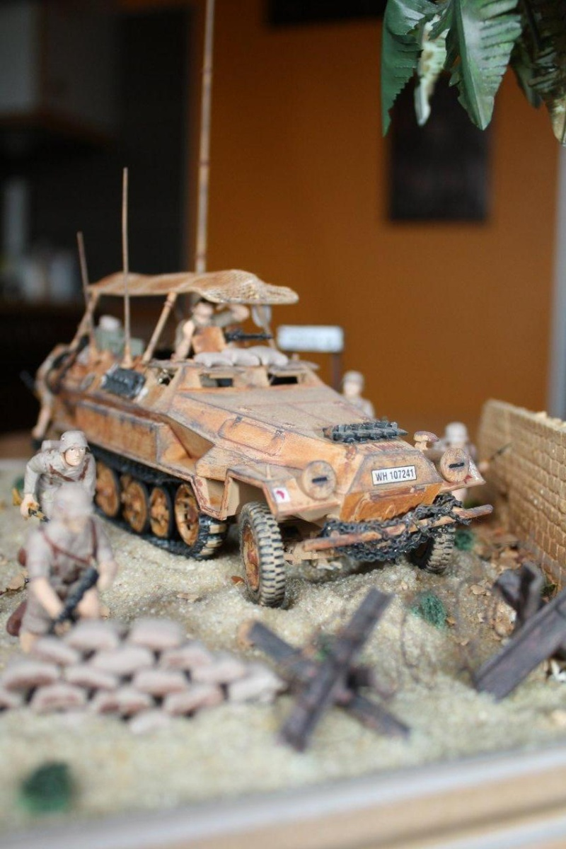 sdkfz (en diorama) direction Tobruk de Jimbo Img_6192