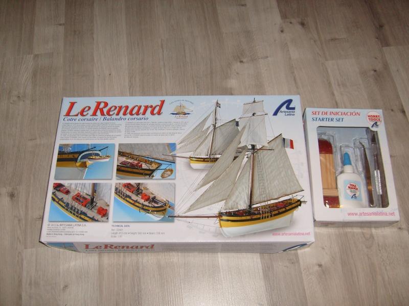 """""""Le renard"""" de Artesania Latina au 1/50°  S7301710"""