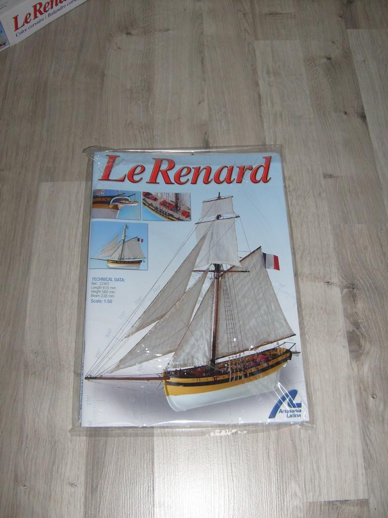 """""""Le renard"""" de Artesania Latina au 1/50°  S7301717"""