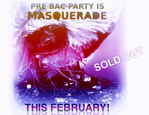 PRE BAC Party : MASQUARADE : SOLD OUT Prebac11
