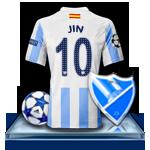 Camiseta Málaga CF para avatar 124