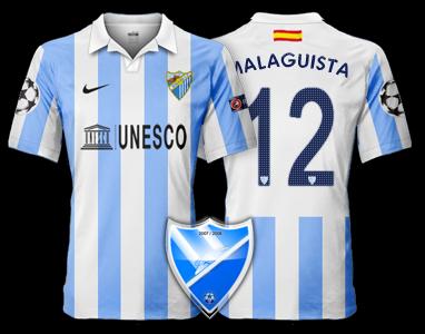 Camiseta Málaga CF para avatar 128
