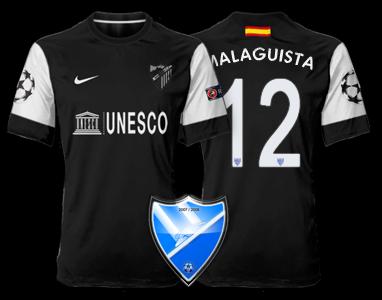 Camiseta Málaga CF para avatar 219