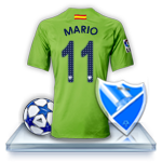Camiseta Málaga CF para avatar 412