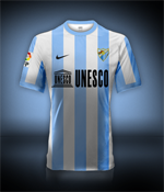 Camiseta Málaga CF para avatar A310