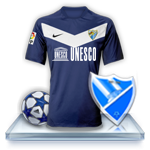 Camiseta Málaga CF para avatar Ava110