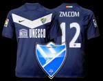 Camiseta Málaga CF para avatar Ava510