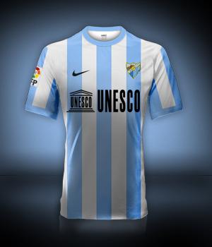 Camiseta Málaga CF para avatar F110