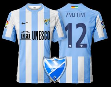 Camiseta Málaga CF para avatar F310
