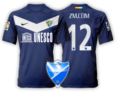 Camiseta Málaga CF para avatar Fir310