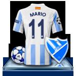 Camiseta Málaga CF para avatar Mario10