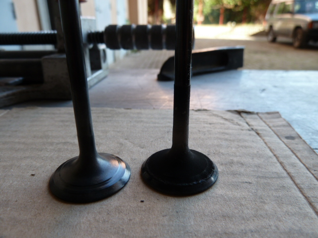 Revisione gommini guidavalvole e smerigliatura sedi P1040010