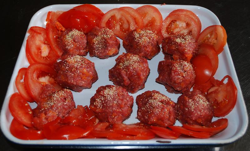 Boulettes de boeuf aux carottes Boulet10