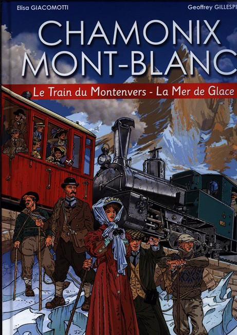 Le chemin de fer du Montenvers mer de glace en BD Chamon11