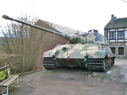 la bataille des ardennes et stratégies allemandes Tiger-10