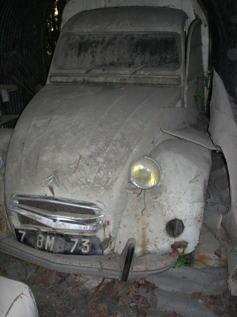 2cv pick up roadster    la fin ...... [des news.... ] Dscn4811