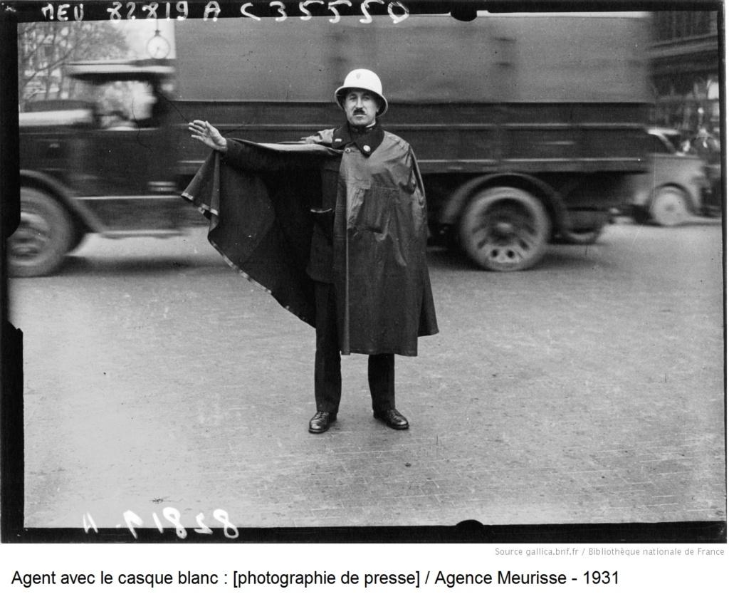 Casque en liège de la Police Parisienne - Page 2 1931_a10