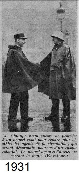 Casque en liège de la Police Parisienne 1931_p11