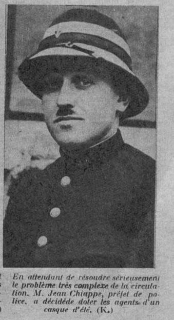 Casque en liège de la Police Parisienne - Page 3 1931_p12