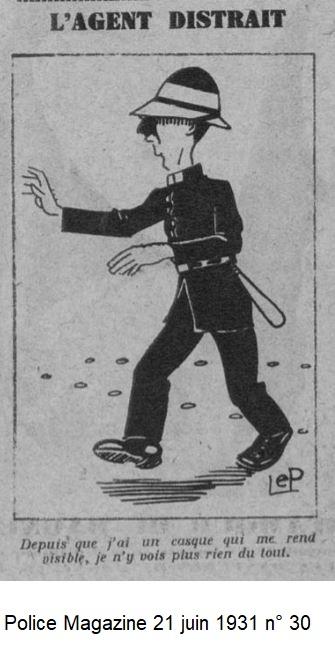 Casque en liège de la Police Parisienne - Page 3 1931_p13