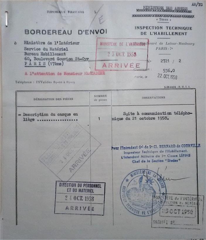 Casque en liège de la Police Parisienne Img_2072