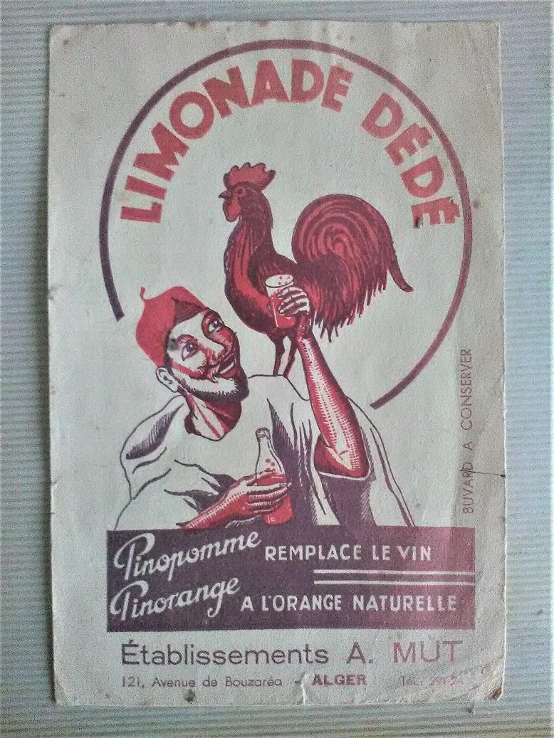 Un soda made in Algérie de 1954: le Vérigoud. Limona10