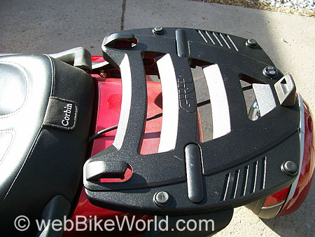 Porte-baguage pour Honda Pacific Coast Givi-l10