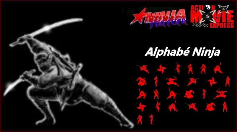 Alphabé Ninja par JoeArmstrong: 4212011