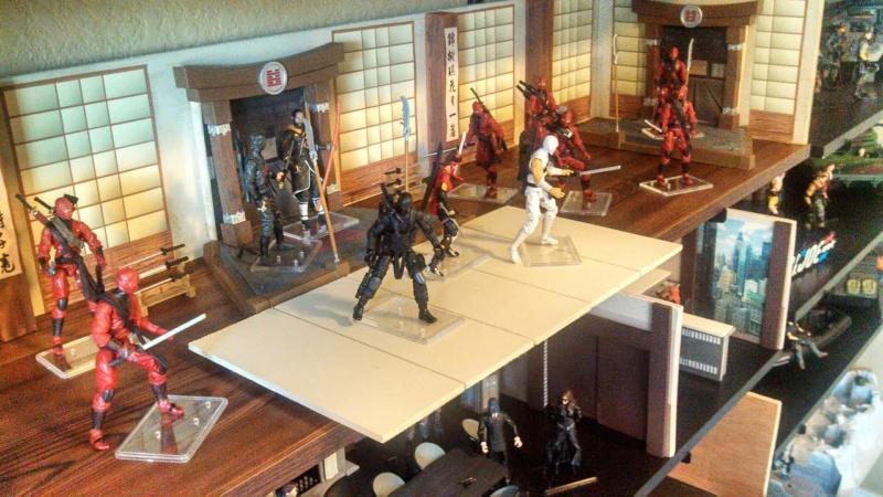 Petits Dioramas trouvez sur la toile: Dojo410