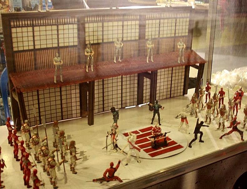 Petits Dioramas trouvez sur la toile: Mega-d10