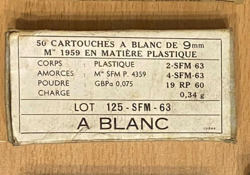 cartouches d'instruction en plastique cal 9 mm parabellum 9mn_bl10