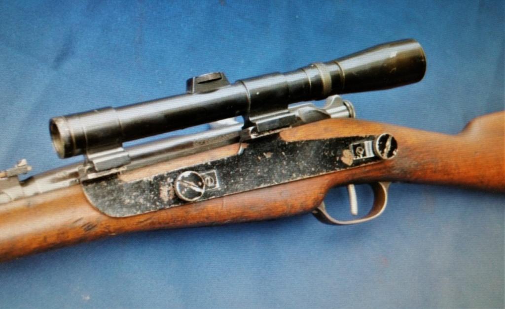 Montage lunette pour fusil Berthier Bert610