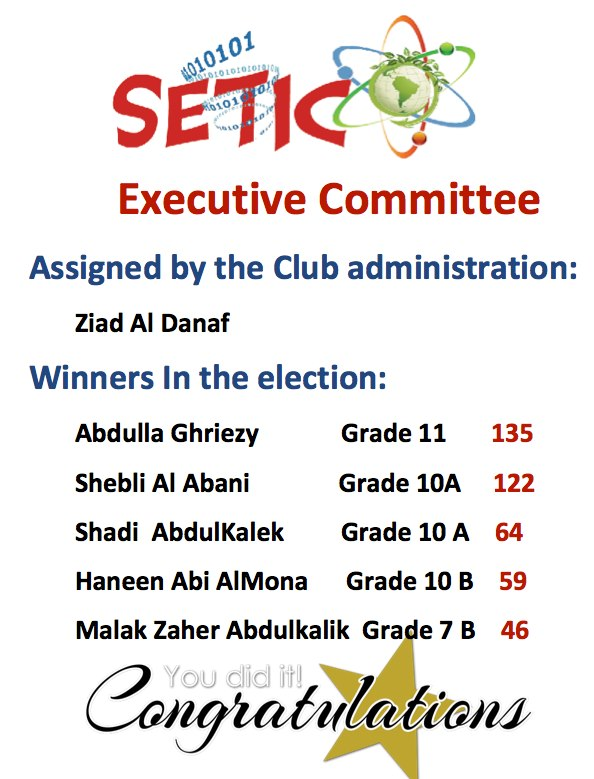 SETIC Executive Committee  22493210