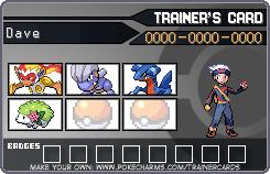 """Fiche Dresseur de l'Histoire de """"Pokemon - Dark Arceus"""" D6704a10"""