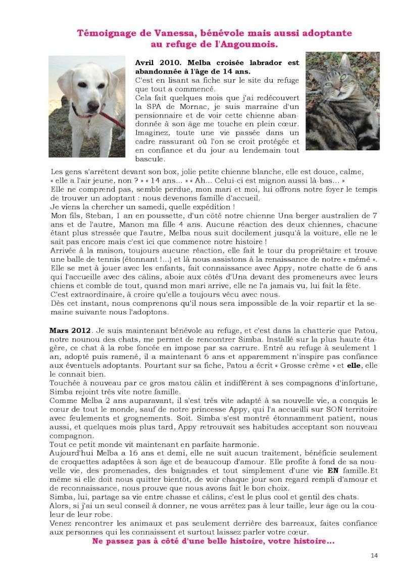Les nouvelles du refuge 2012 01410