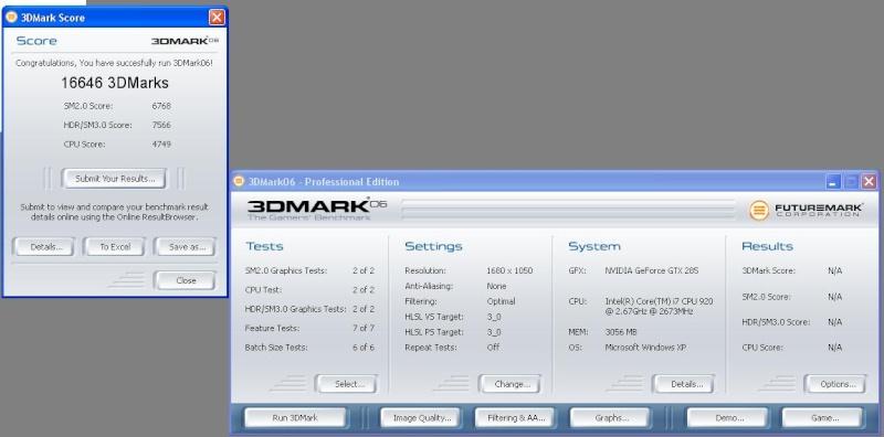 posez vos screens 3d mark 3dmark10