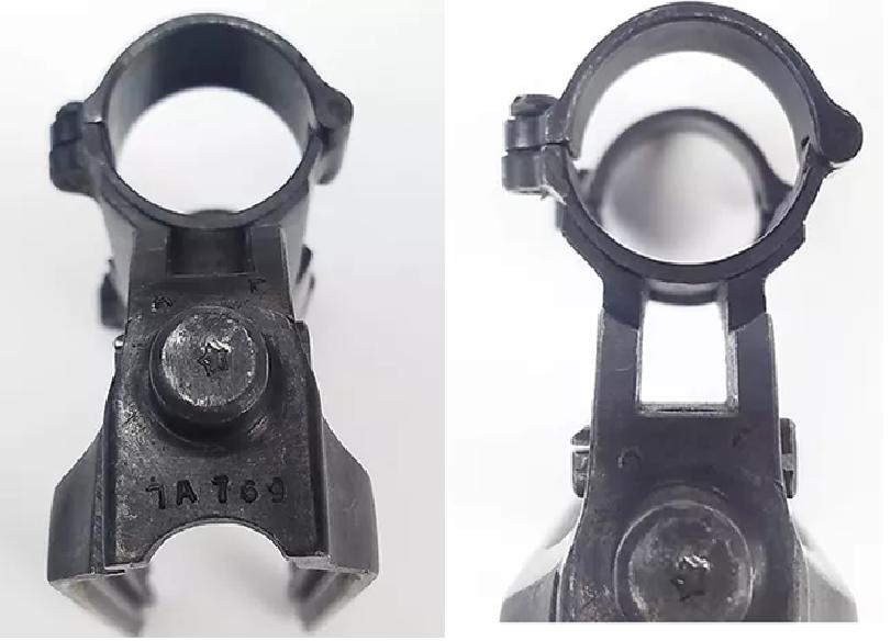 lunette et embase du SVT 40 tireur d'élite Marqua11