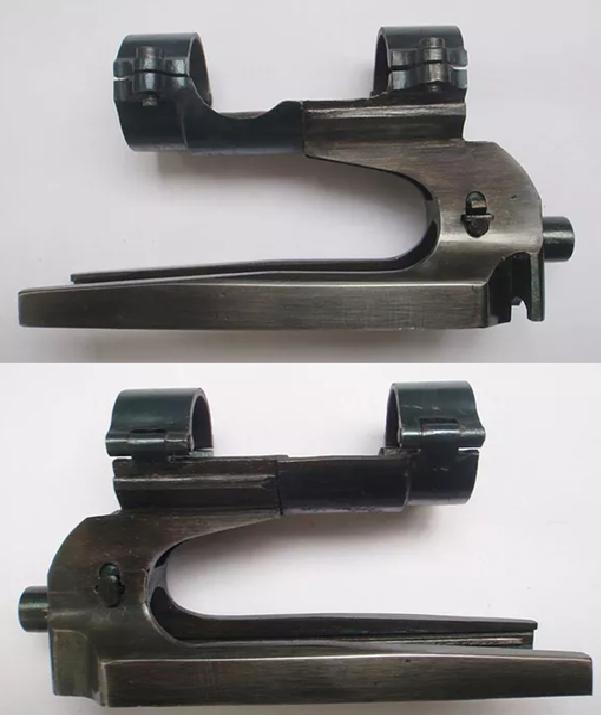 lunette et embase du SVT 40 tireur d'élite Modele10