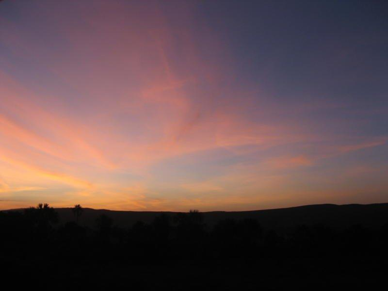 De ma Kia Lorette le ciel à 5h du matin à Caracas Img_3711
