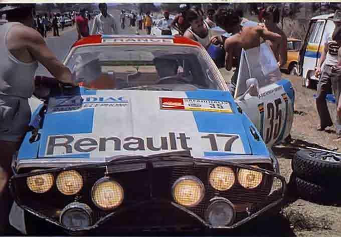 R 17 Ronde Cévenole Rally110