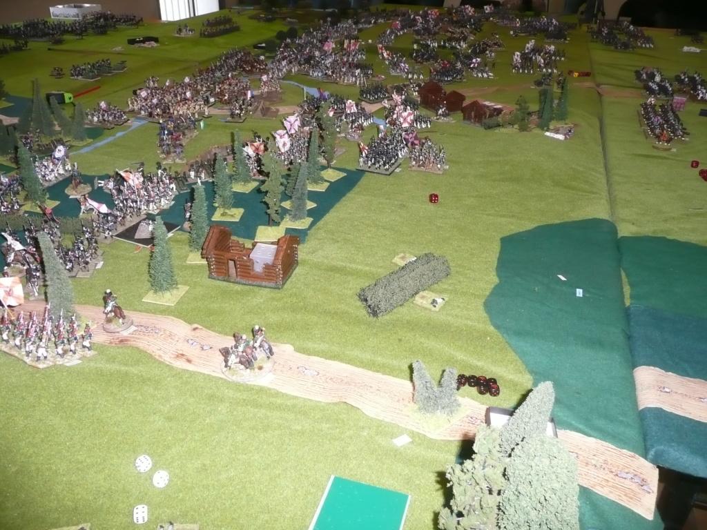 souvenirs de 2012, l'assaut des flêches et de la grande redoute à Borodino P1070634