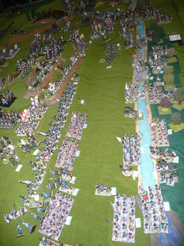 souvenirs de 2012, l'assaut des flêches et de la grande redoute à Borodino P1070645