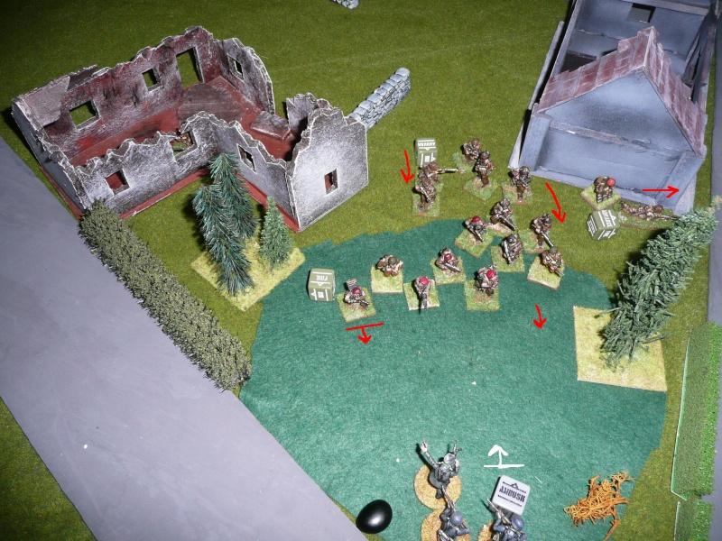la dernière réunion 2012, Diables rouges contre PzGrenadiers, BA P1070834