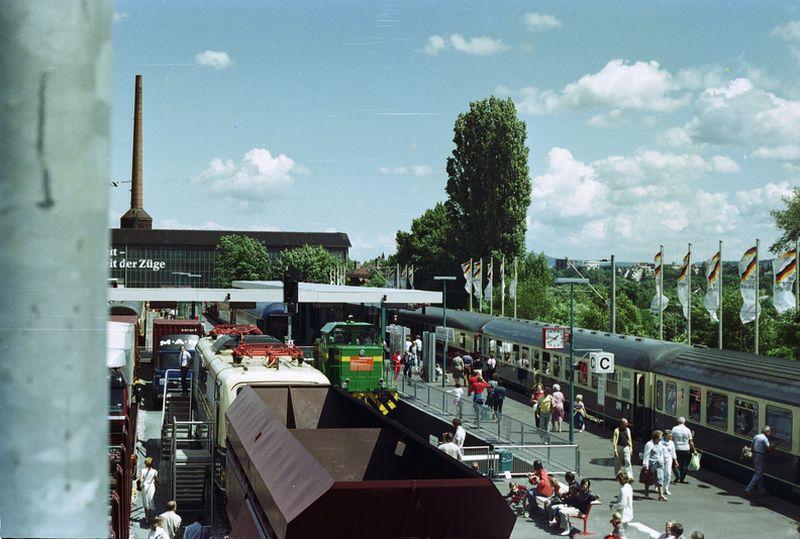 Bilder zum 150 jährigen Bahnjubiläum in Nürnberg 150_ja76